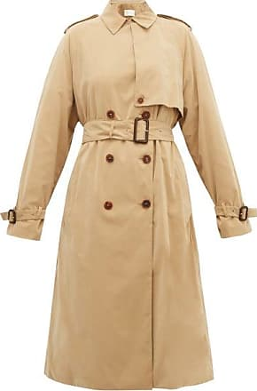 The Row Triana Double-breasted Trench Coat - Womens - Beige