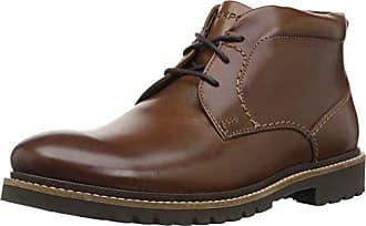 Rockport Mens Marshall Chukka Chukka Boot, Dark Brown Leather, 10.5 M US