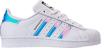 adidas Girls Big Kids Superstar Casual Shoes, White