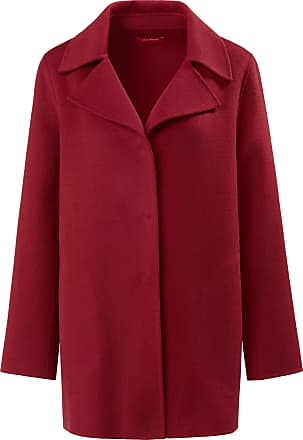 Laura Biagiotti Flared coat made of double-woven fabric Laura Biagiotti Roma red