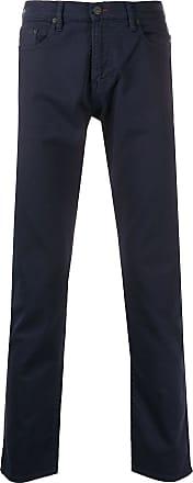 Paul Smith Calça jeans slim com cintura média - Azul