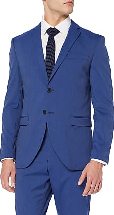 Selected Homme Mens Slhslim-mylologan Insig BLZ B Noos Suit Jacket, Blue (Insignia Blue Insignia Blue), 18 (Size: 44)