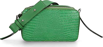 Chicca Borse Clutch Bag in genuine leather made in Italy - 11x19x8 Cm