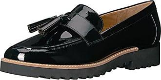 Franco Sarto Womens Carolynn Loafer Flat, Black, 5.5 M US