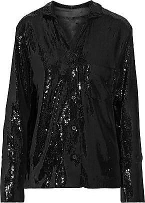 Rta Rta Woman Yvonne Sequined Stretch-knit Jacket Black Size XXS