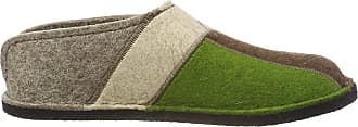 Haflinger Womens Flair Puzzle Open Back Slippers, Beige (Torf 550), 6.5 UK