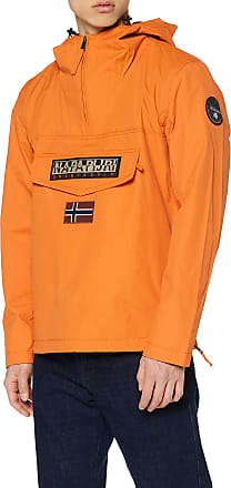 Napapijri Mens Rainforest M Sum 1 Jacket, Orange (Amber Orange A44), Medium