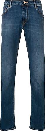 Hand Picked Calça jeans slim - Azul