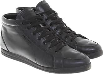 aeb604e952c9b8 Prada gebraucht - Leder-Sneakers in Schwarz - EU 40