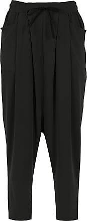 Uma Poesia cropped pants - Black