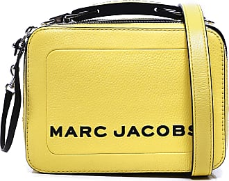 Marc Jacobs Womens The Textured Mini Box Leather Bag Green One Size