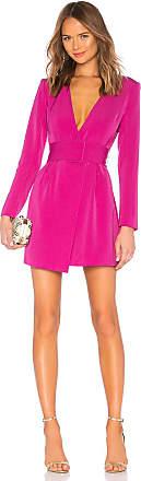 NBD x Naven Aida Dress in Fuchsia