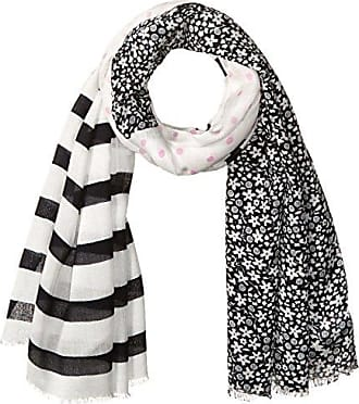 OnGossamer On Gossamer Womens Mixed Prints Scarf, Navy, One Size