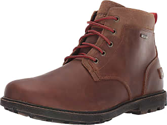 Rockport Mens Rgd BUC II Chukka Boot, Bison Leather/Suede, 13.5 UK Wide
