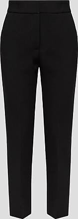 Msgm pants in double-layer cady crepe