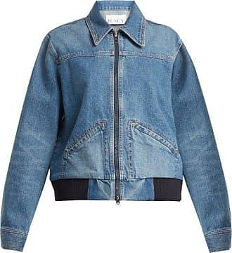 Raey Vintage 1970s Denim Bomber Jacket - Womens - Blue