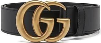 Gucci Ceinture avec boucle Double G en cuir