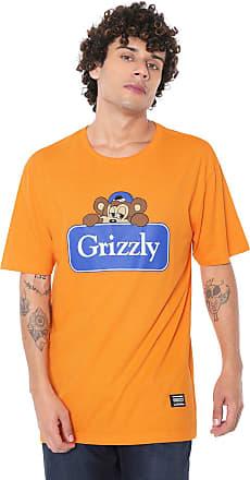 Grizzly Camiseta Grizzly Travel Bear Laranja