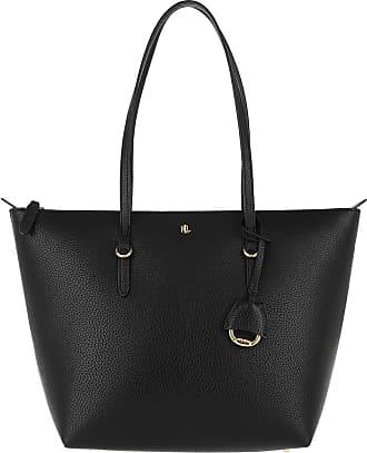 Lauren Ralph Lauren Tote - Keaton Tote Bag Small Black - black - Tote for ladies