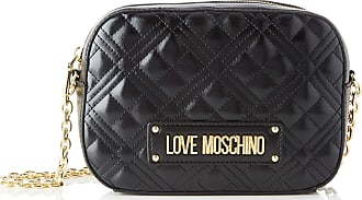Love Moschino Womens Jc4208pp0a Messenger Bag, Black (Black Quilted), 22x16x6 Centimeters (W x H x L)