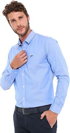 Yachtsman Camisa Yachtsman Reta Padronagem Azul