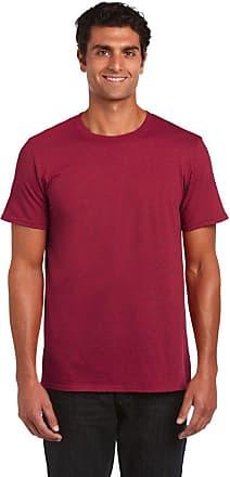 Gildan Softstyle Adult Ringspun T-Shirt Antique Cherry Red L