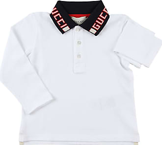 59fe1f71fc1 Gucci Baby Polo Shirt for Boys On Sale, White, Cotton, 2017, 9M