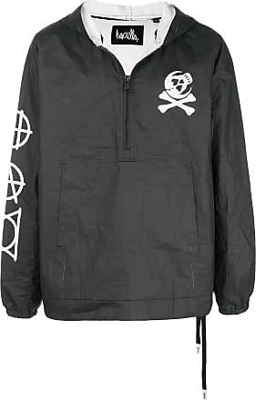 Haculla H.A.C paper hoodie - Black