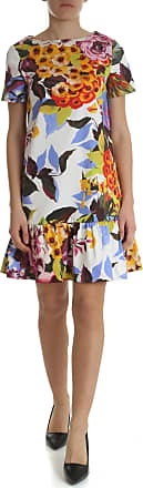 Blugirl Floral dress with ruffle on the bottom