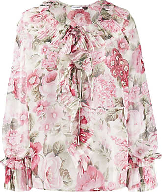 P.A.R.O.S.H. printed tunic top - PINK