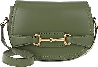 Celine Crécy Bag Small Leather Light Khaki Umhängetasche grün