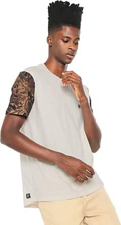 Globe Camiseta Globe Leaf Camo Bege
