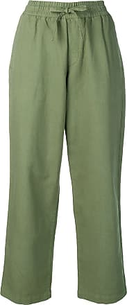 Ymc You Must Create drawstring waist cropped trousers - Green