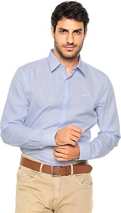 Ellus Camisa Ellus Reta Xadrez Azul