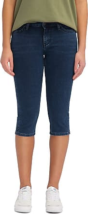 Mustang Womens Jasmin Capri Bermuda Shorts, Blue (Medium Dark 780), W31 (Size:31)