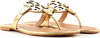 Tory Burch Sandals for Women On Sale, Gold, Leather, 2019, 2.5 3.5 4 4.5 5.5 6.5