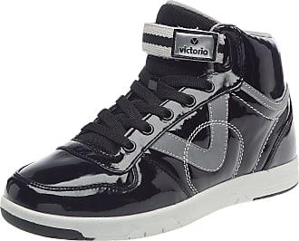da59002d797c Victoria Womens Sneaker Charol Pu Trainers Black Noir (Negro) 7 (41 EU)