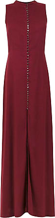 OLYMPIAH Vestido longo Romania - Vermelho
