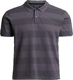 Woolrich Gestreiftes Poloshirt aus Baumwolle in Stahlgrau - cotton   steel grey   xl - Steel grey