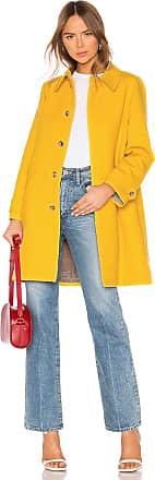 A.P.C. Dinard Coat in Yellow
