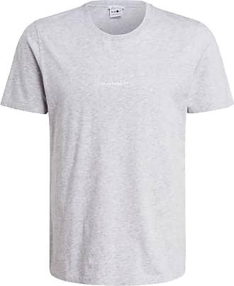 Nn.07 T-Shirt ETHAN - HELLGRAU/ MELIERT
