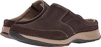 Rockport Mens RocSports Lite Five Clog Shoe, dark bitter chocolate, 7.5 M US