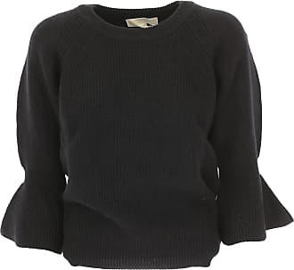 55e333172cb7cb Michael Kors Pullover für Damen, Pulli Günstig im Sale, Schwarz, Echte Lamm  Wolle