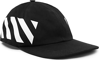 318a32a8f0b Off-white Striped Cotton-canvas Cap - Black