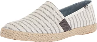 Keds Womens Chillax A-Line Stripe Jute Espadrilles Beige in Size UK 5.5 M