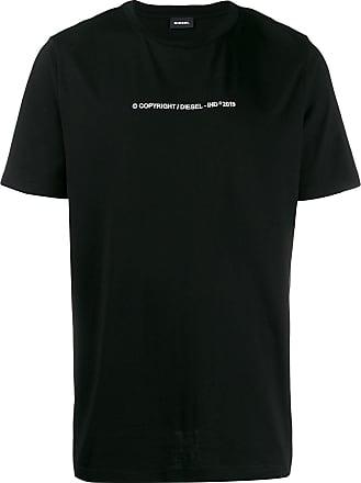 Diesel Camiseta ampla - Preto