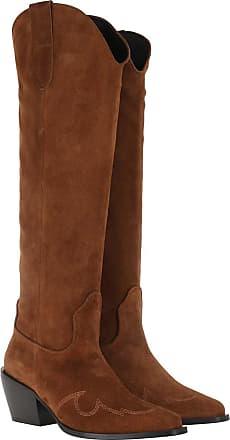 Nubikk Boots & Booties - Alex Gilly Boot Cognac Suede - cognac - Boots & Booties for ladies