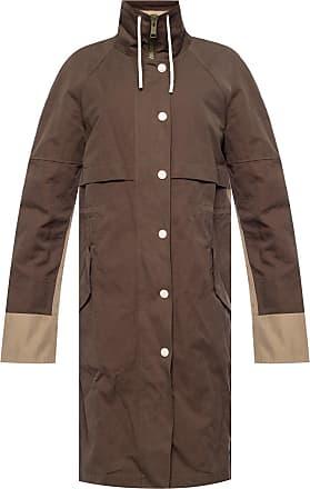 Yves Salomon Hooded Jacket Womens Brown