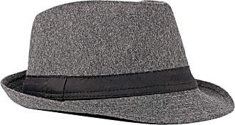Zhhlaixing Fedoras Trilby Hats Unisex Classic Bowler Caps Gangster Fascinators Panama Hat Vintage Style Roll-up Short Brim Jazz Hat for Adult Men Woman 56-58CM D