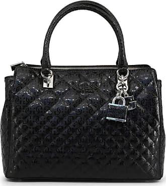 Guess Queenie Luxury Satchel Black